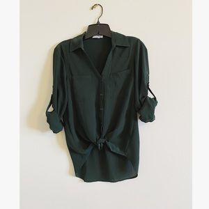 Dark Green Portofino Shirt
